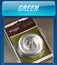 Green LED Puck