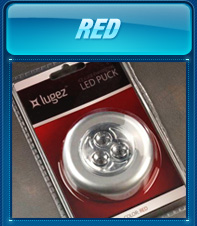 Red LED Puck